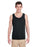 Direct To Garment (DTG) Black Tank Top