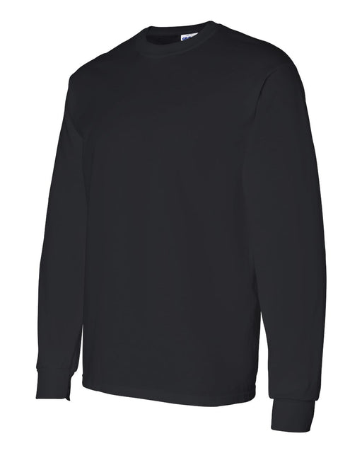 Direct To Garment (DTG) Black Long Sleeve Tee