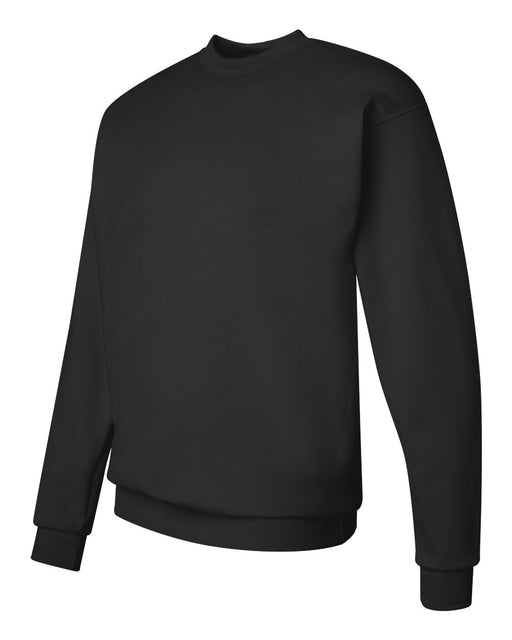 Ladies Direct To Garment (DTG) Black Long Sleeve Sweat Shirt