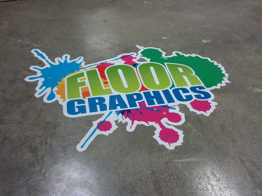 4mil Flexible Vinyl Floor Graphic - Custom Size