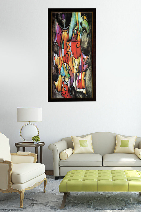 Beautiful Abstract Colorfull Painting