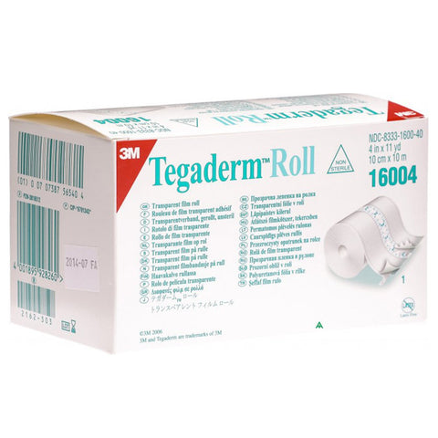 3M Tegaderm Transparent Film Roll