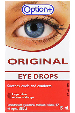 Option+ Original Eye Drops 15ml