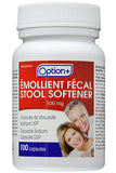 Option+ Stool Softener Caps (Docusate Sodium) 100mg
