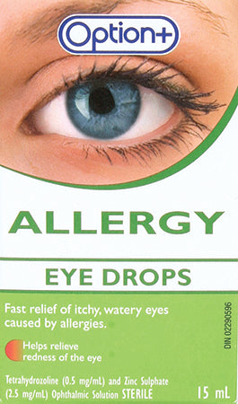 Option+ Allergy Eye Drops