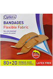 Option+ Bandage Fabric Adhesive (100)