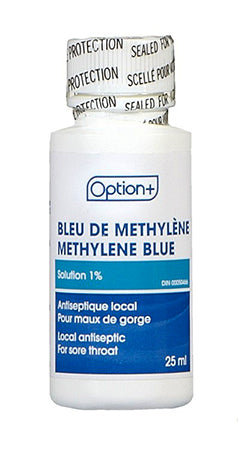 Option+ Methlene Blue 1%