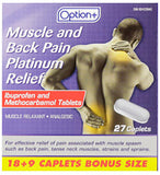 Option+ Muscle and Back Platinum (27) Caplets