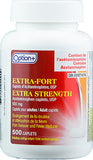 Option+ Extra-Strength Acetaminophen 500mg Caplets