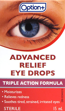 Option+ Eye Advanced Relief Drops 15ml
