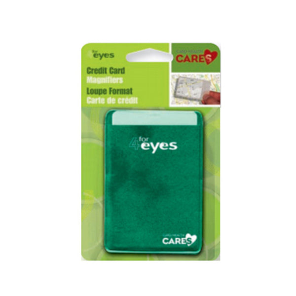 Card Health Cares Credit Card Magnifier
