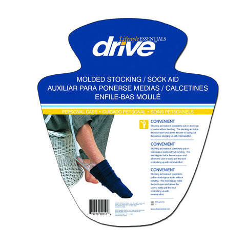 Drive Medical Lifestyle Stocking Aid Moulded
