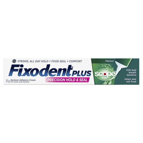 Fixodent Plus with Scope