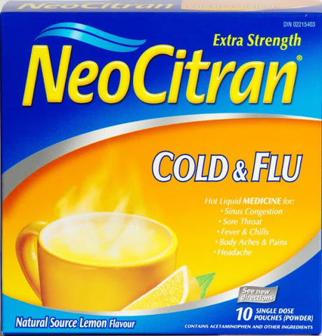 NeoCitran Cold & Flu Extra Strength 10 pack