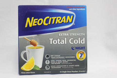 NeoCitran Extra Strength Total Cold Night