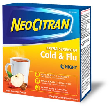 NeoCitran Cold and Flu Nighttime