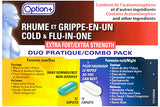 Option+ Cold & Flu-in-one Day & Night Extra Strength