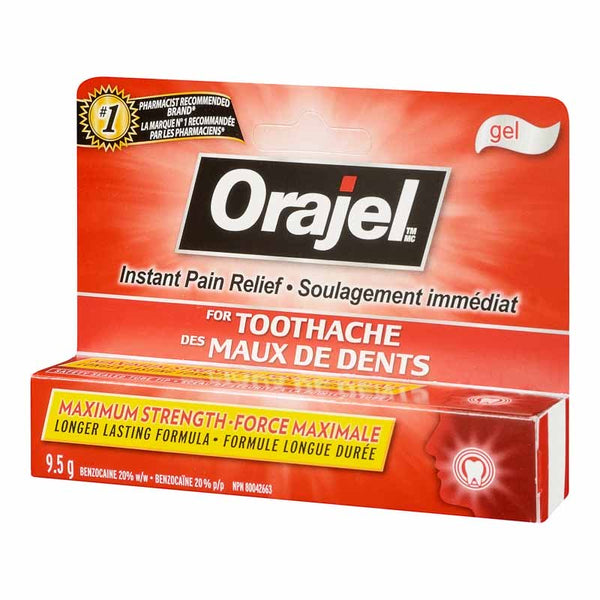 Orajel Maximum Strength 9.5g