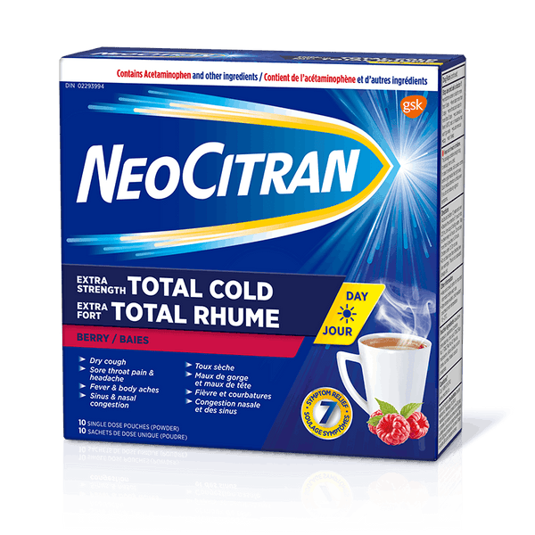 NeoCitran Extra Strength Total Cold Non-Drowsy