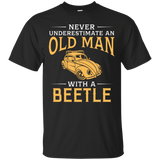Never underestimate an old man with a Beetle