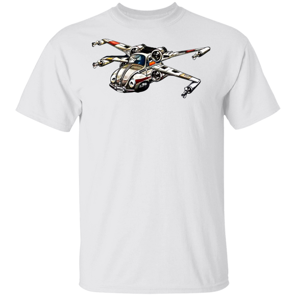 Hot Wheels Star Wars X-Wing Starfighter-Volkswagen Beetle T-shirt