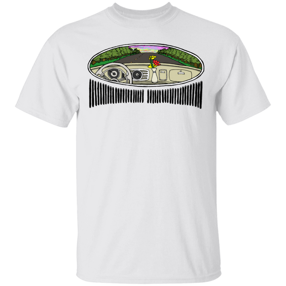 Oval Window-Volkswagen Beetle T-shirt