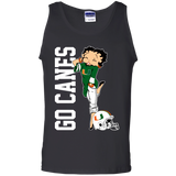 Miami Hurricanes Betty Boop T-Shirt