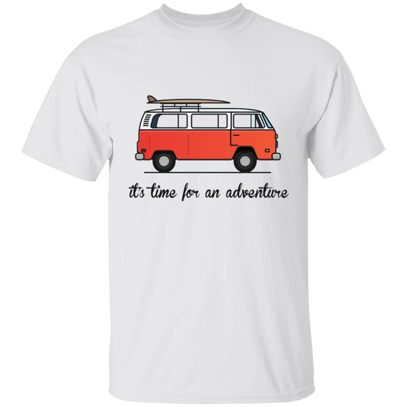 It's Time For An Adventure-Volkswagen Beetle Bus T-shirt
