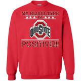 My Blood Type Is Buckeyes Positive!!!