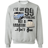 I've Got 99 Problems But A Radiator Tain't One-Volkswagen Beetle And Bus T-shirt