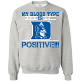 My Blood Type Is Blue Devils Positive!!!