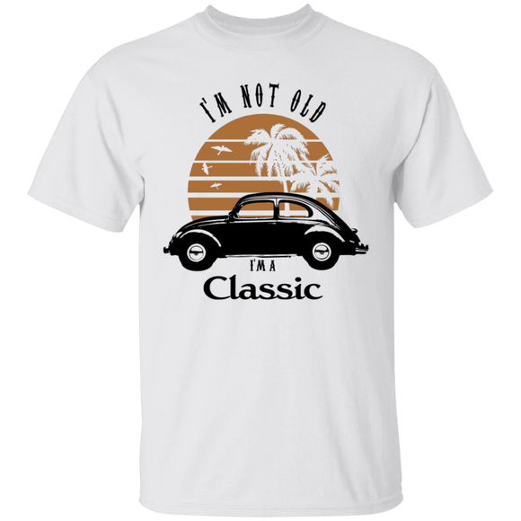 I'm Not Old, I'm A Classic-Volkswagen Beetle T-shirt
