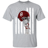 Sooners - Helmet Flag All Day!