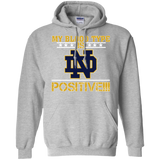 My Blood Type Is Notre dame Positive!!!