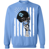 Tar Heels - Helmet Flag All Day!