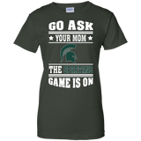 GO ASK YOUR MOM THE SPARTANS GAME IS ON - Teezbeez