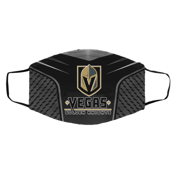 Vegas Golden Knights Style 4 Face Mask, Adult Face Mask, Sport Face Mask, Reusable Face Mask, Washable F