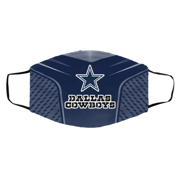 Dallas Cowboys Style 5 Face Mask, Adult Face Mask, Sport Face Mask, Reusable Face Mask, Washable Face Mask