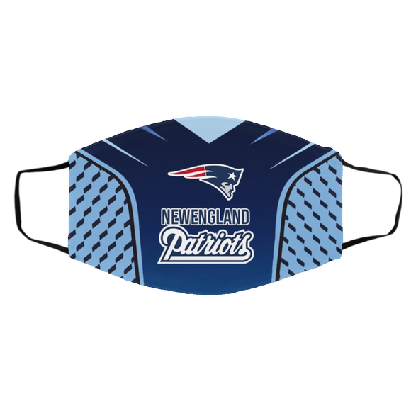 New England Patriots Style 5 Face Mask, Adult Face Mask, Sport Face Mask, Reusable Face Mask, Washable Face Mask