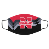 Nebraska Huskers Protective Face Mask Cotton mask Washable mask Face Covering reusable mask fabric mask made in USA