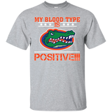 My Blood Type Is Gators Positive!!!