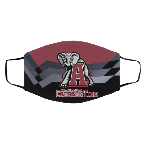 Alabama Crimson Tide Protective Face Mask Cotton mask Washable mask Face Covering reusable mask fabric ma