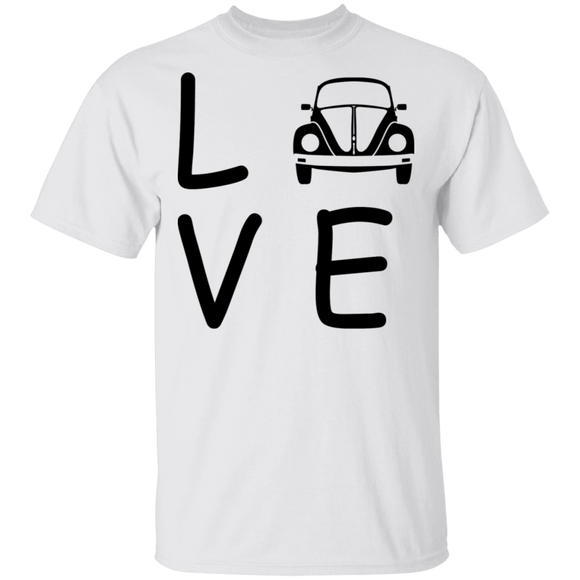 LOVE beetle-Volkswagen Beetle T-shirt