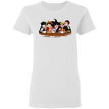 Mashup Heroes Characters Anime Eat Together Shirt