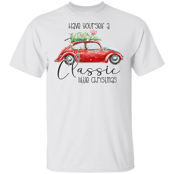 Have Yourself A Classic Little Christmas - Volkswagen Beetle  T-shirt