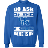 GO ASK YOUR MOM THE WILDCATS GAME IS ON - Teezbeez