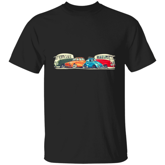 Friends - Volkswagen Beetle And Bus T-shirt