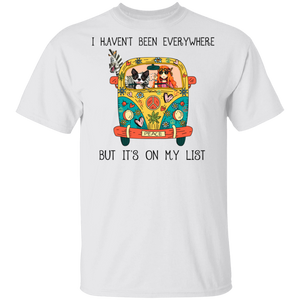 I Haven't Been Everywhere But Its On My List-Volkswagen Beetle Bus T-shirt