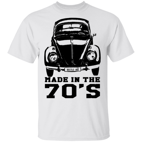 Made In The 70'S - Volkswagen Beetle T-shirt