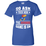 GO ASK YOUR MOM THE JAYHAWKS GAME IS ON - Teezbeez